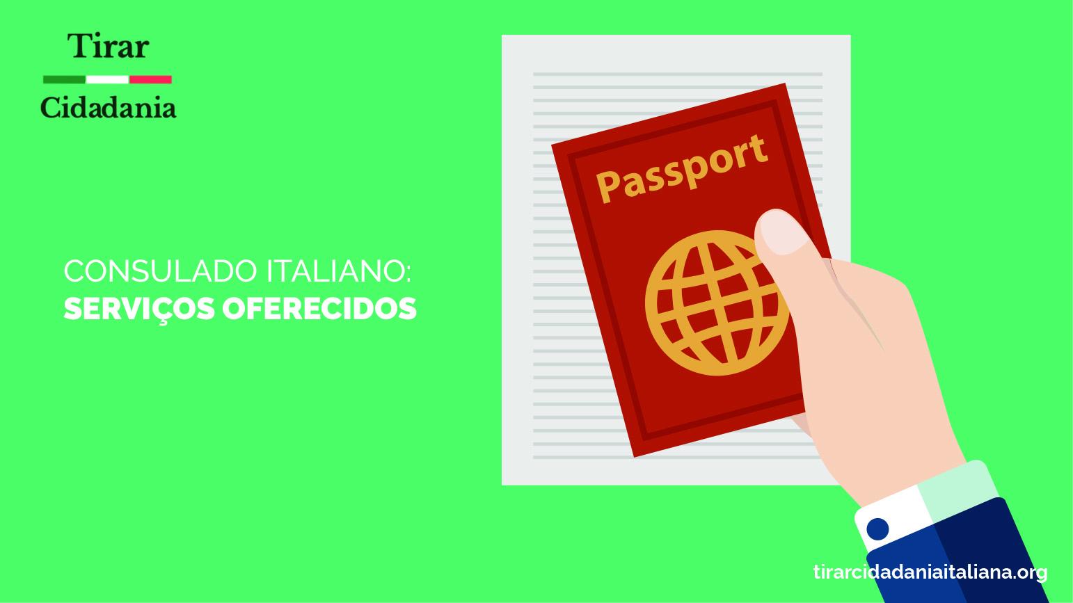 Serviços Oferecidos pelos Consulados Italianos ATUALIZADO 2018