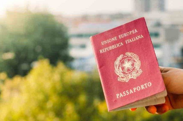 assessoria cidadania italiana passaporte
